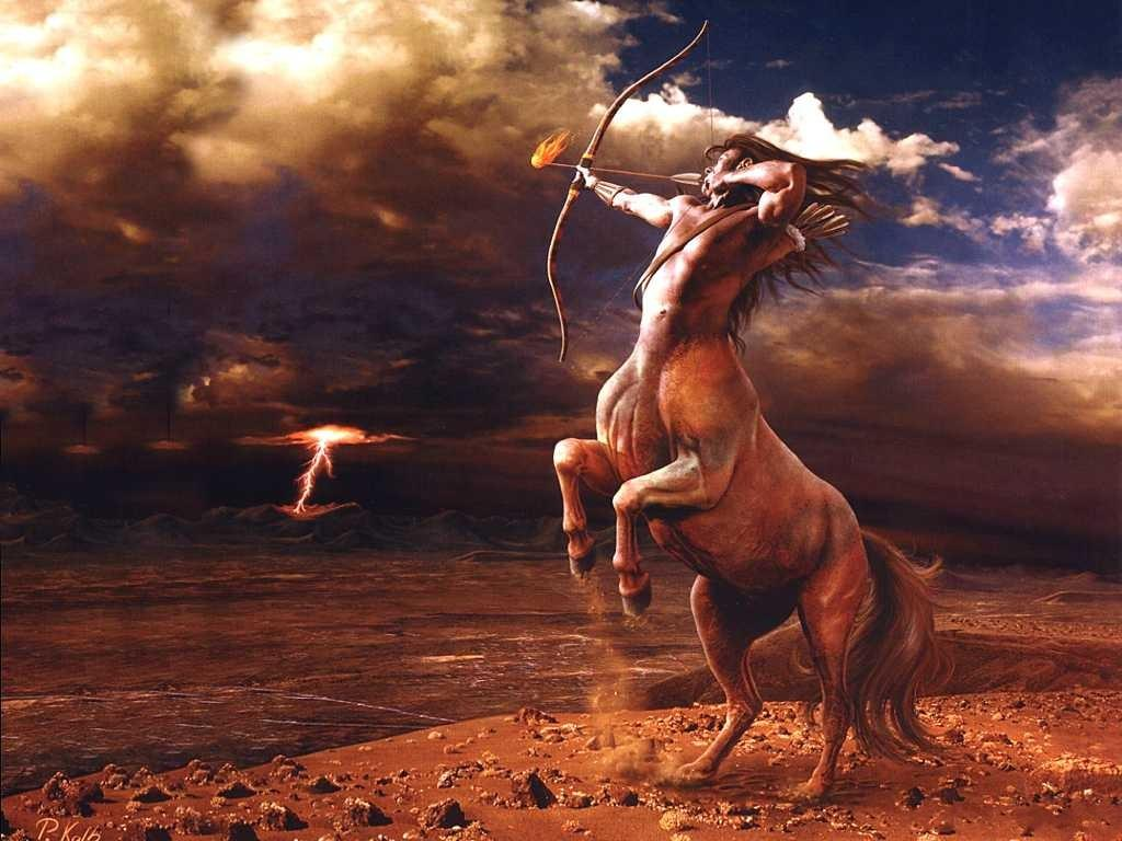 sagittarius mythology wallpapers 1024x768