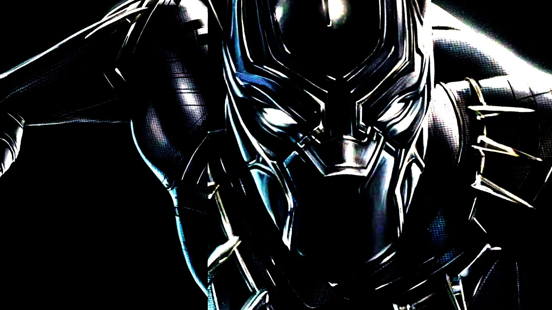 warrior Black Panther Marvel Comics Captain America 1920x1080