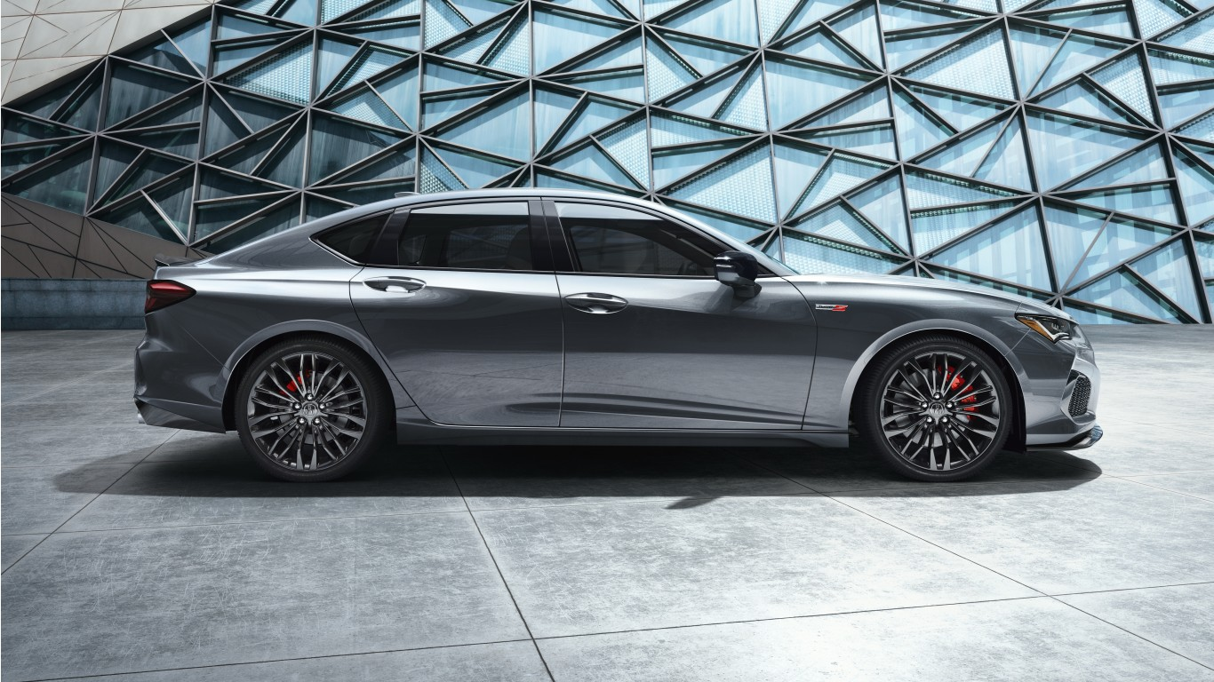 2021 Acura TLX Type S 5K Wallpaper HD Car Wallpapers ID 14896 1366x768