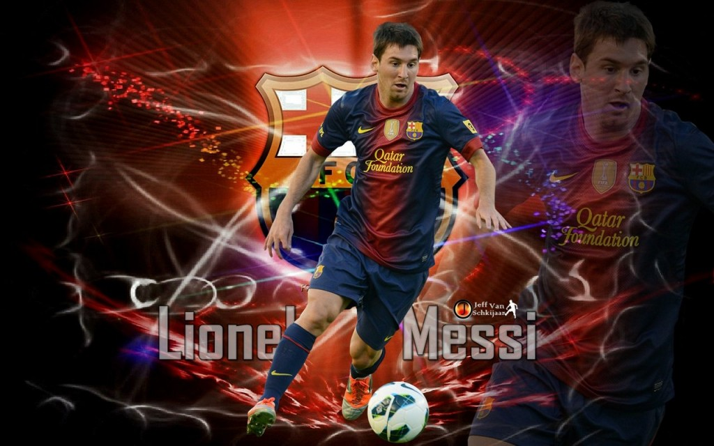 Football Lionel Messi hd New Nice Wallpapers 2013 1024x640