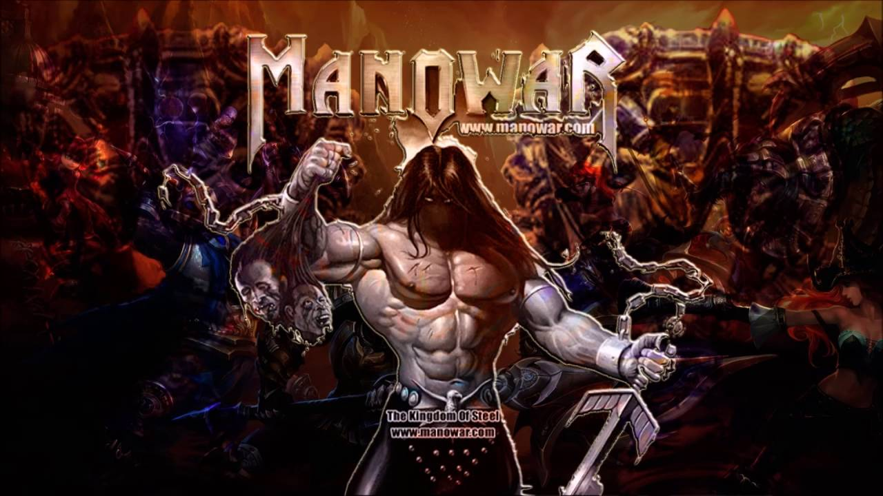 Manowar   All Men Play On 10 [HQ] 1280x720