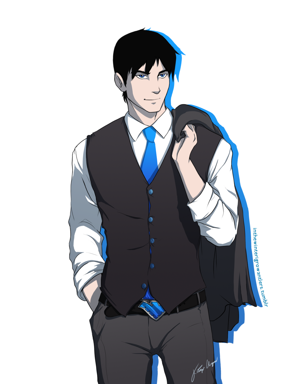 dapper dick grayson young justice photo 33647272 fanpop 1024x1325