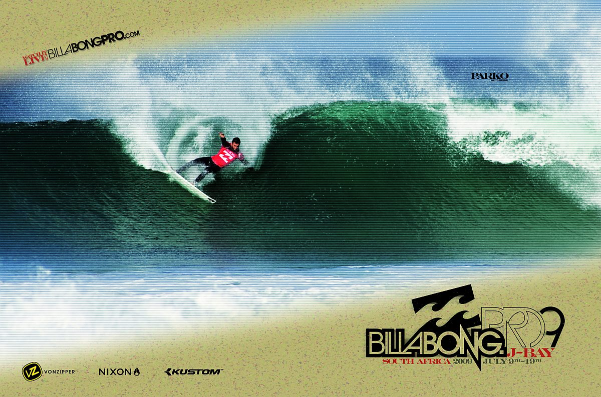 Billabong Pro J Bay 2009 bringt die internationale Surfelite im Juli 1200x794