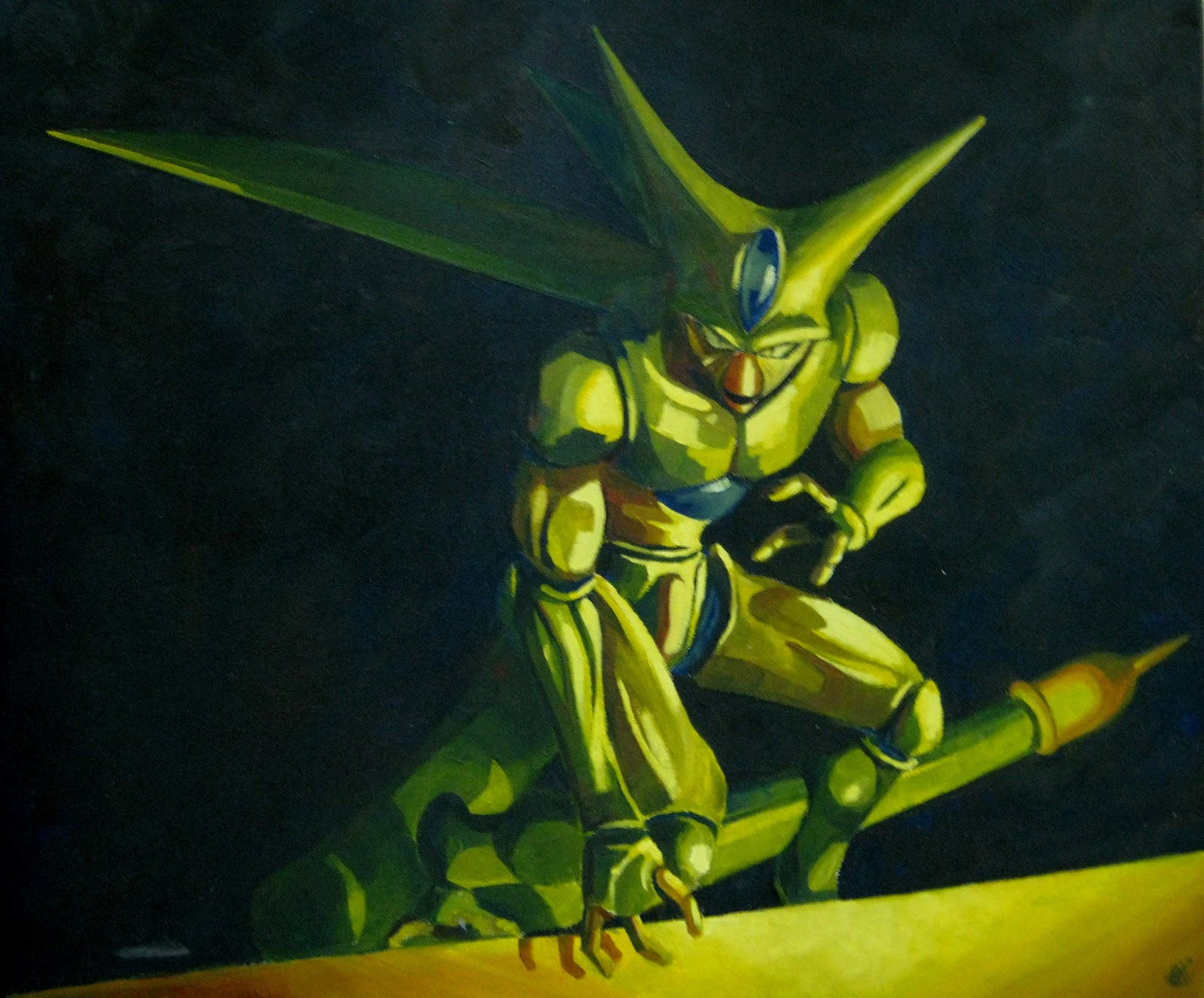 DRAGON BALL Z WALLPAPERS Imperfect cell 1600x1326