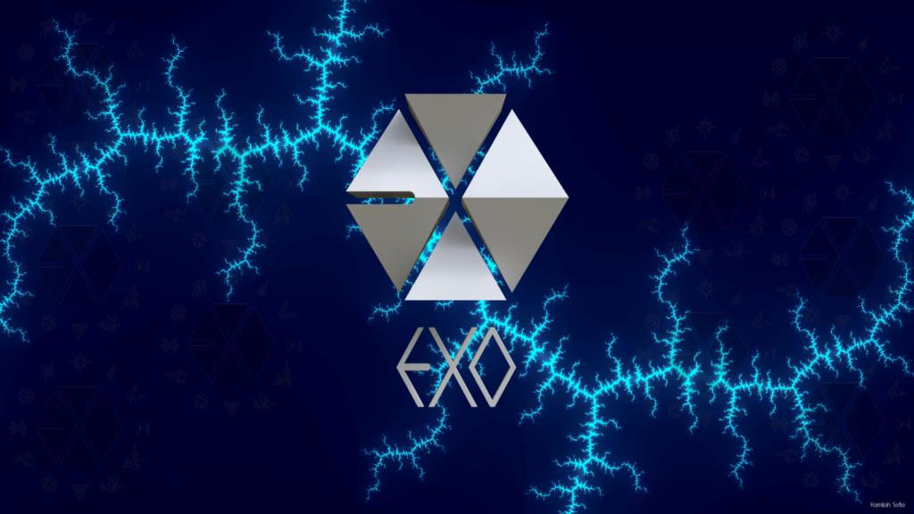 Exo Wolf Desktop Wallpaper Exo wallpaper by kamilahila 1024x576