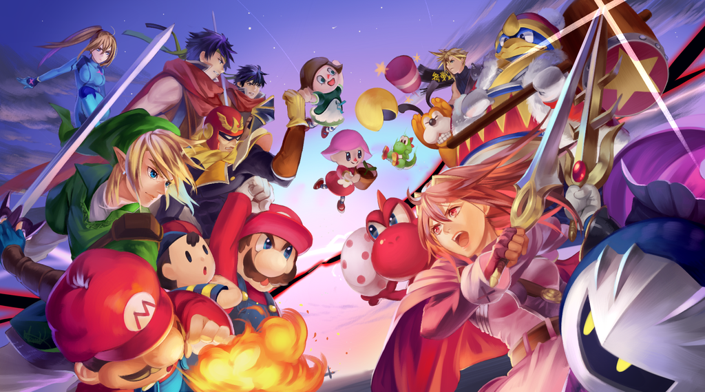 Pin on Super Smash Bros 1024x569