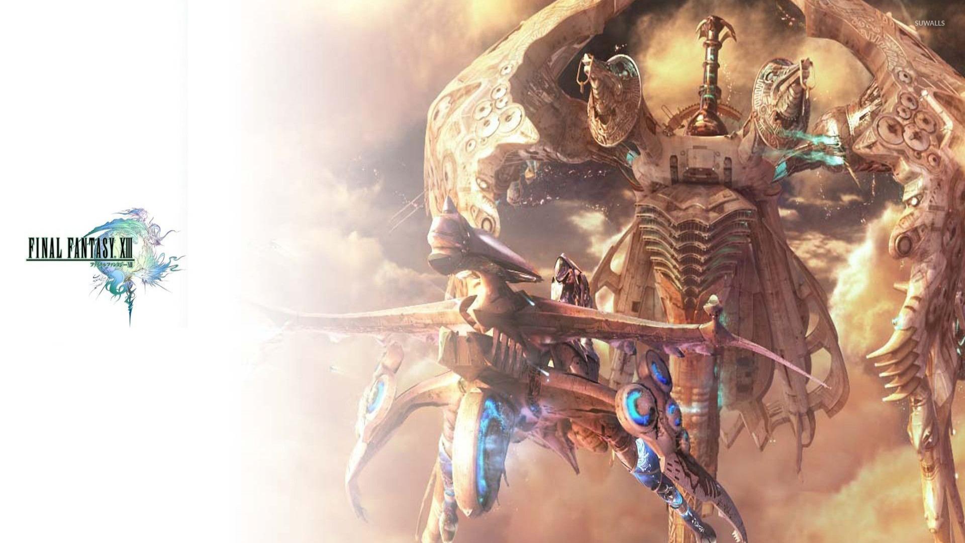 Final Fantasy Xiii Wallpaper: Final Fantasy 13 2 Wallpaper
