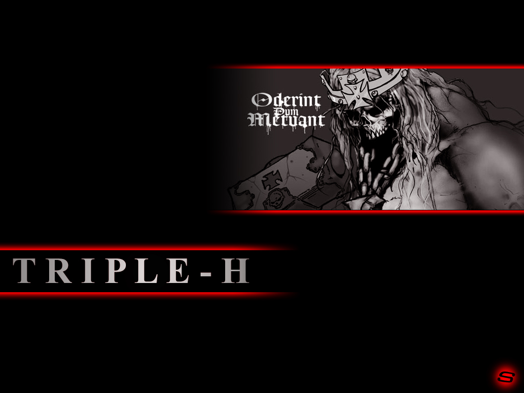 TRIPLE H LOGO wallpaper   ForWallpapercom 1024x768