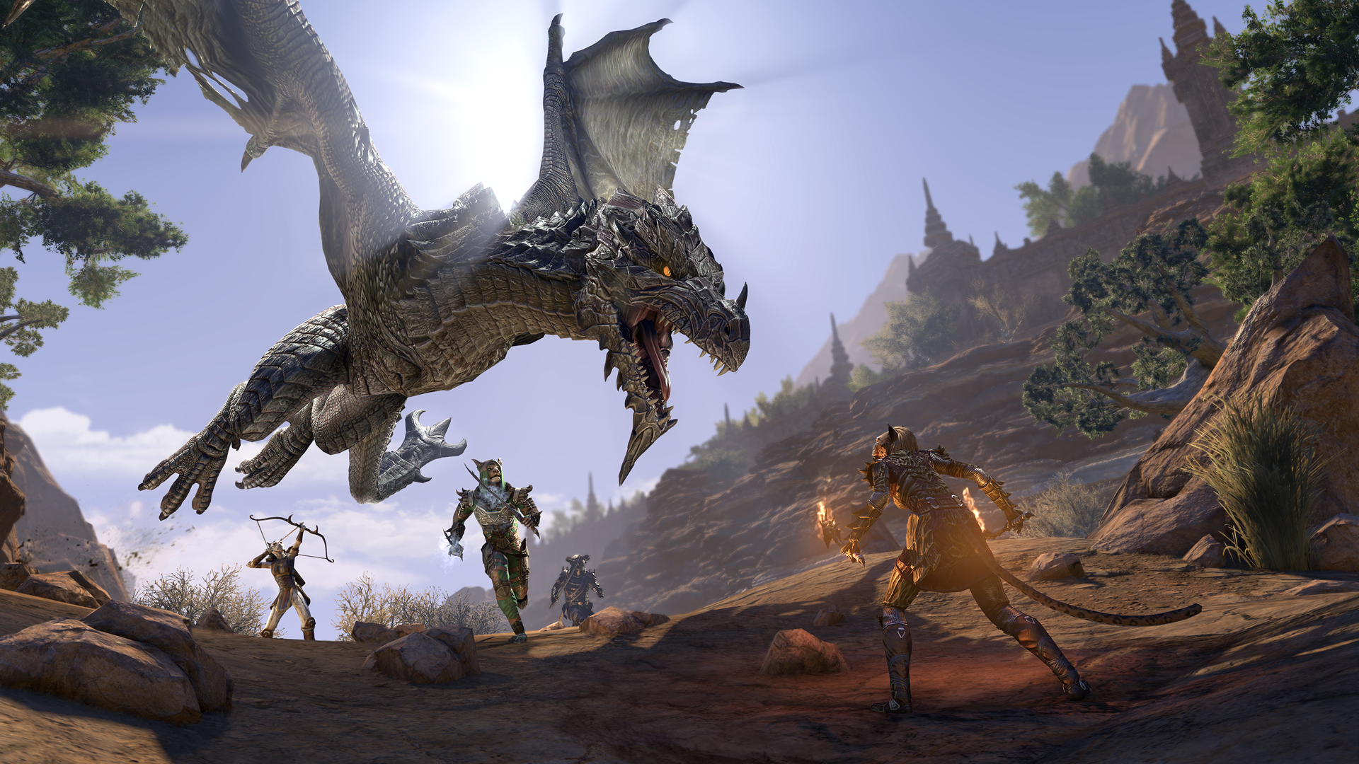 The Elder Scrolls Online Elsweyr Expansion Release Date New 1920x1080