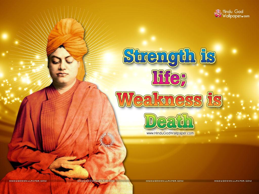 Life Quotes Swami Vivekananda Wallpapers Download 1024x768