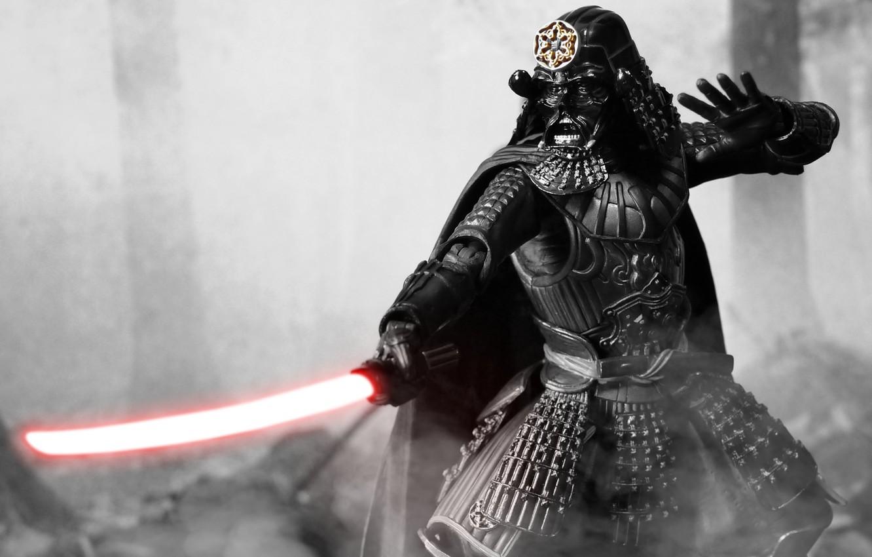 Wallpaper toy Star Wars samurai figurine Darth Vader Star 1332x850