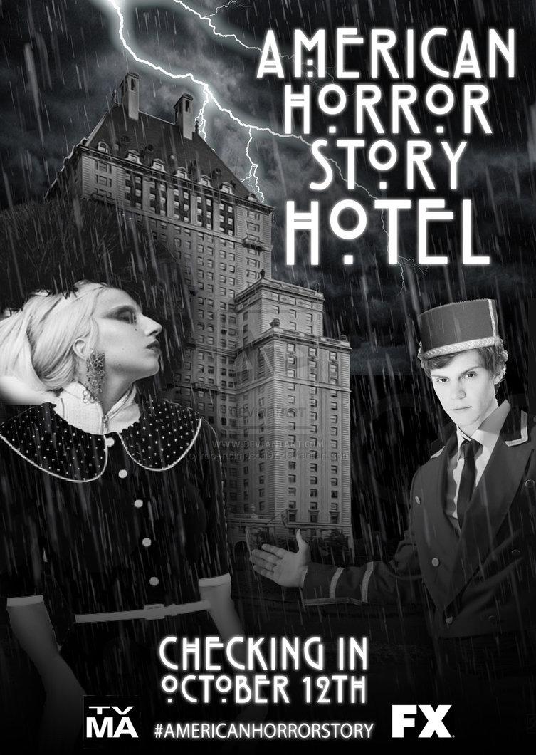 AHS Hotel Poster by robertsimpson97 753x1060