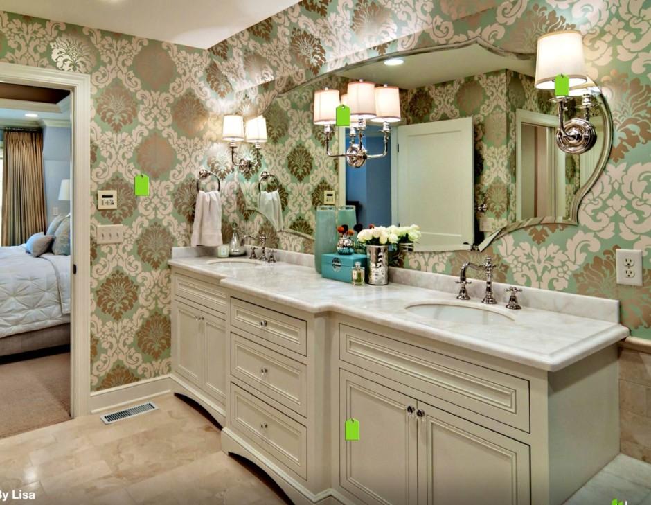 Waterproof Bathroom Walllpaper: Water Resistant Wallpaper For Bathrooms