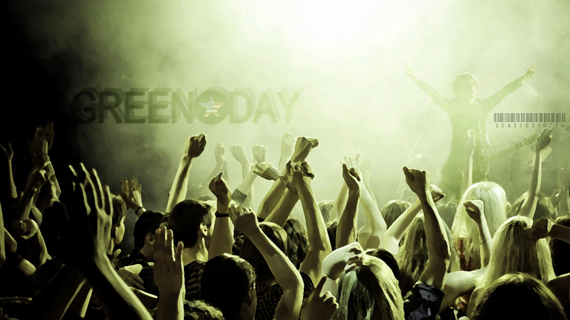 Green Day 1920x1080