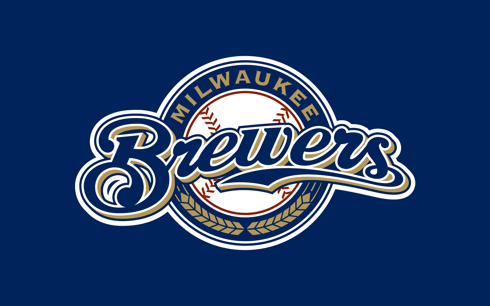 Milwaukee Brewers Wallpaper Desktop Wallpapersafari