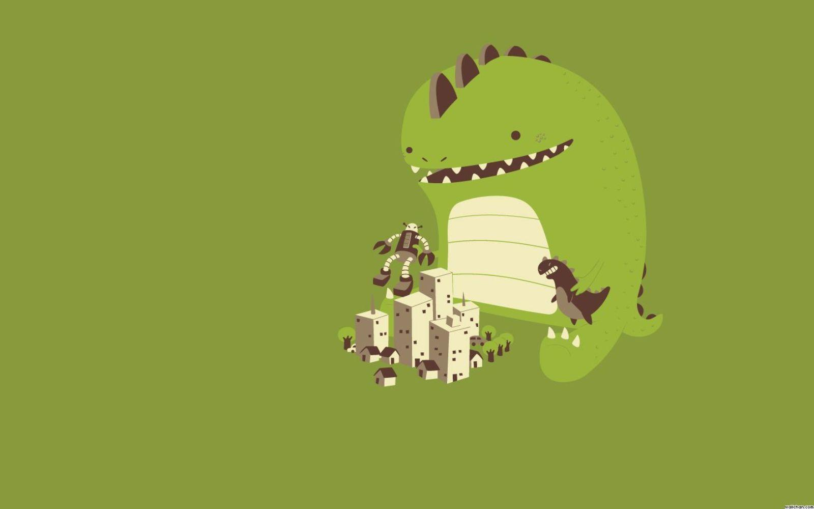 Cute Dinosaur Backgrounds 1600x1000
