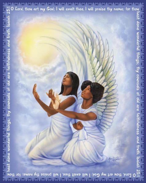 [47+] African American Angels Wallpaper on WallpaperSafari