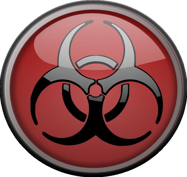 Explosive Hazard Symbol Wallpaper Toxic symbol clip art   vector 600x567