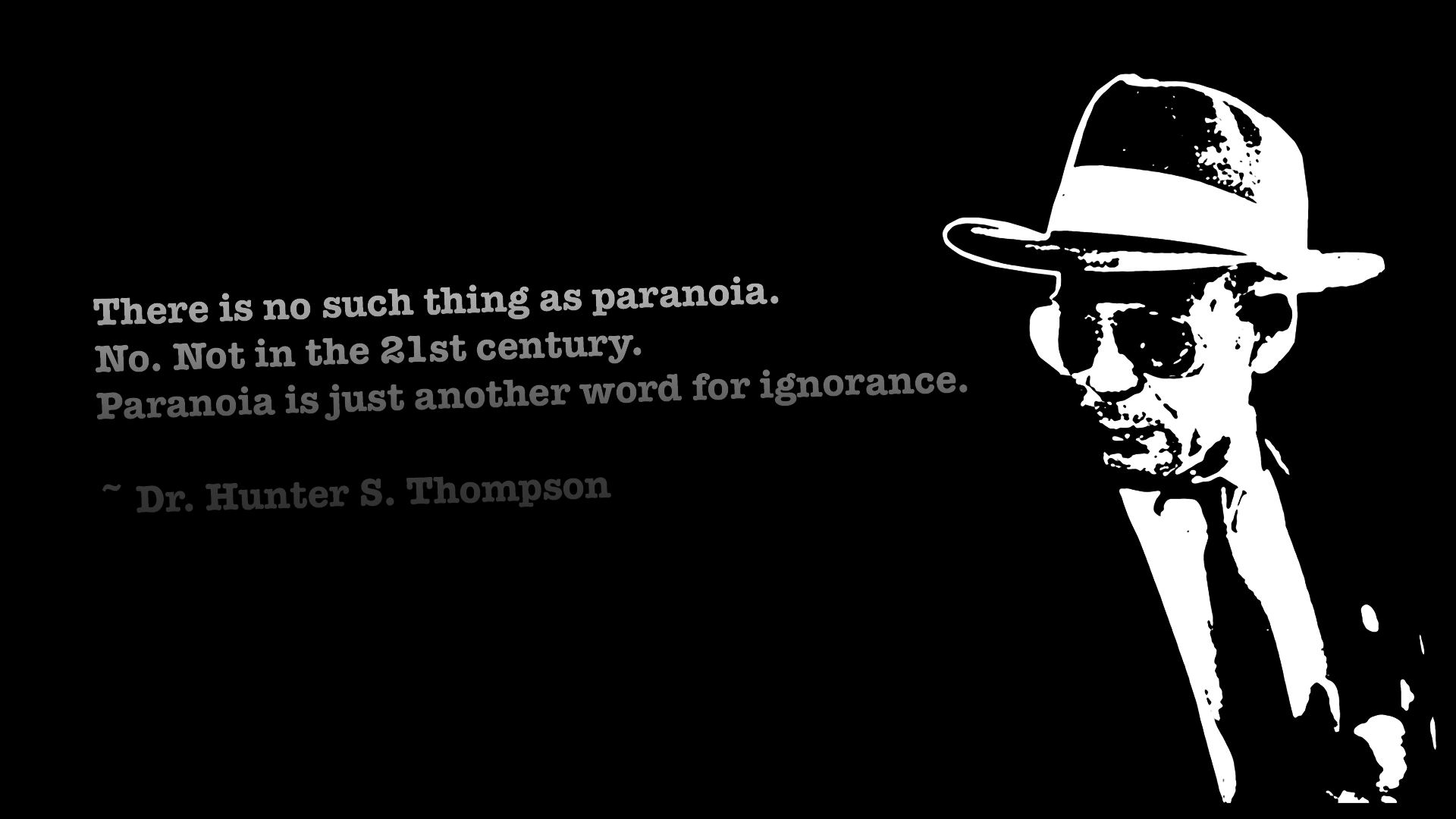 66+] Hunter S Thompson Wallpaper on WallpaperSafari