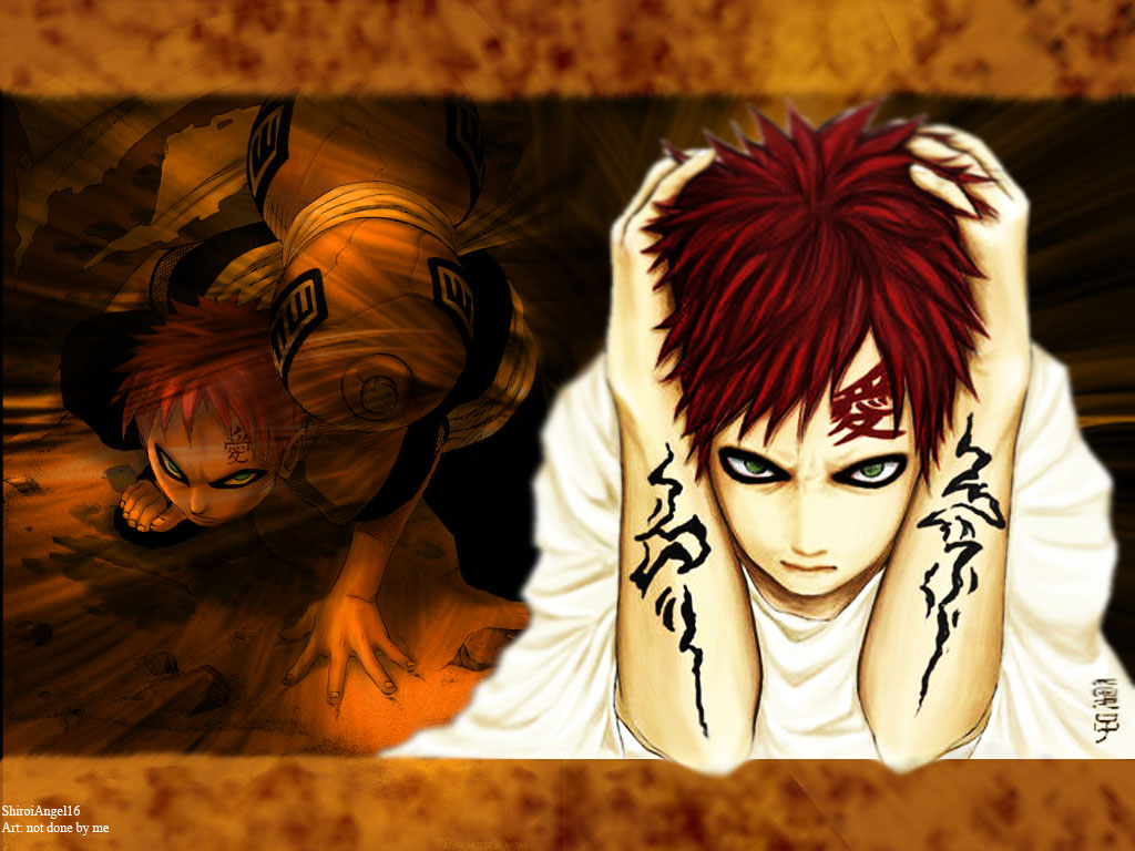 Naruto Shippuden Gaara Wallpaper 1024x768 Full HD Wallpapers 1024x768