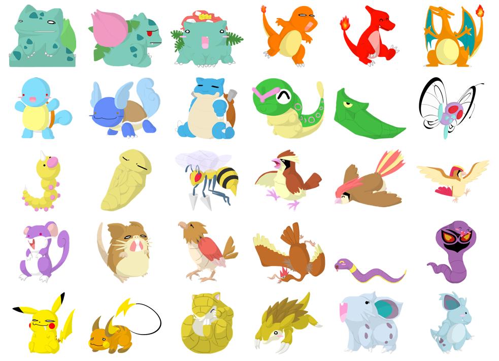 Cute Pokemon 5 Desktop Wallpaper 983x711