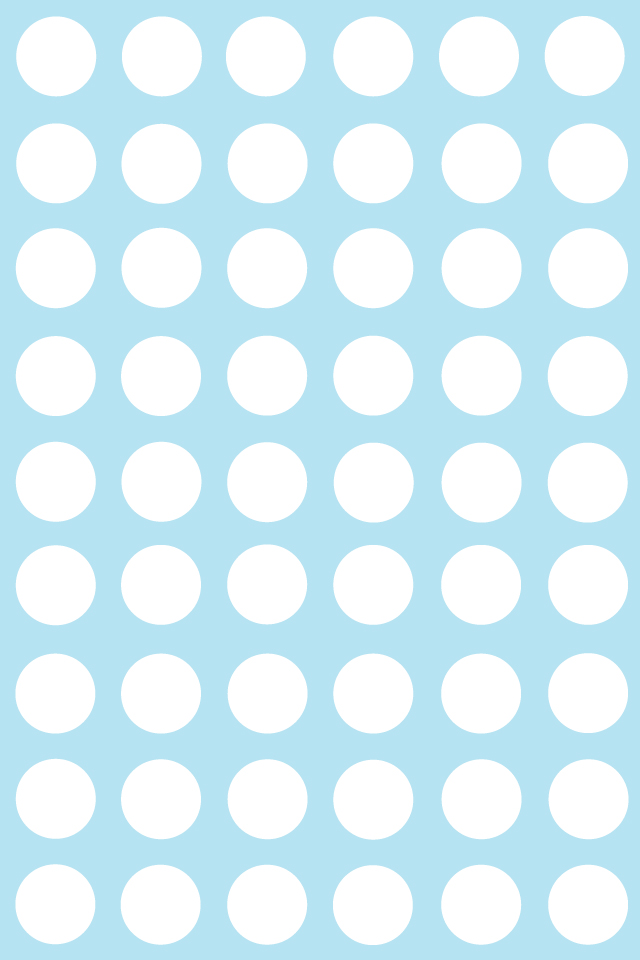 Printables BackgroundsWallpapers Patterns Polka dots Baby Blue 640x960