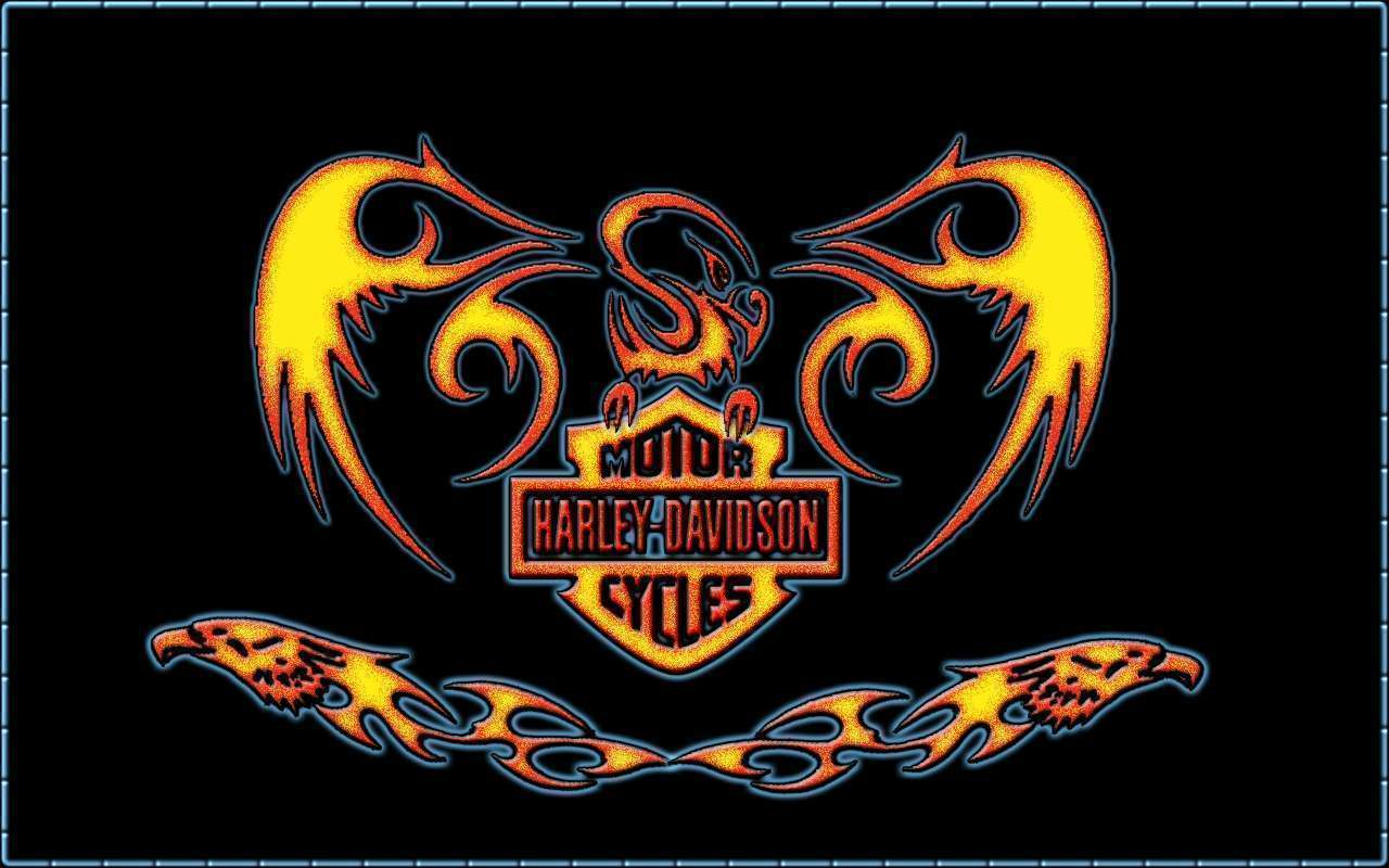Harley Davidson Glory Wallpaper Wallpapers Hd Car Wallpapers 1280x800