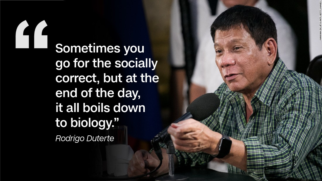 Who is Philippines President Rodrigo Duterte   CNN 1100x619