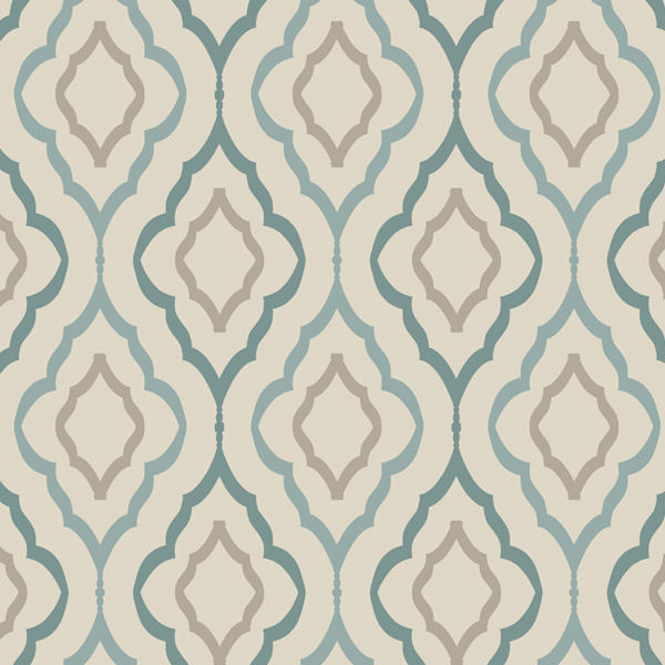 Candice Olson Teal Diva Wallpaper   Wall Sticker Outlet 600x600