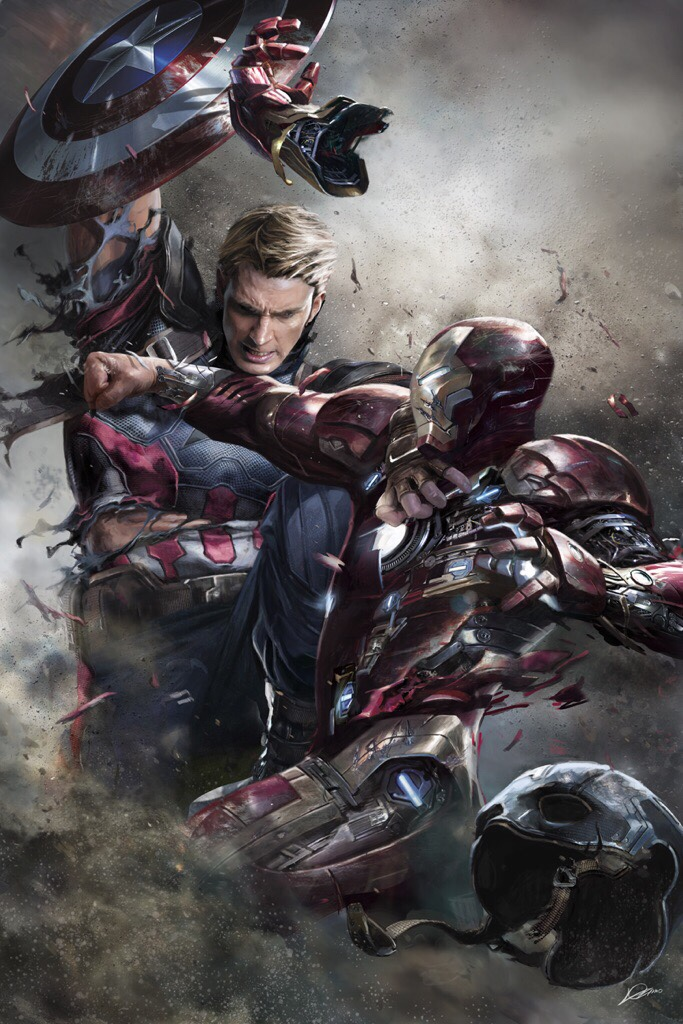 Captain America Civil War images Captain America vs Iron Man 683x1024