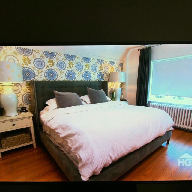 Wallpaper palette via HGTV Canada Bedroom Dreams Pinterest 640x640
