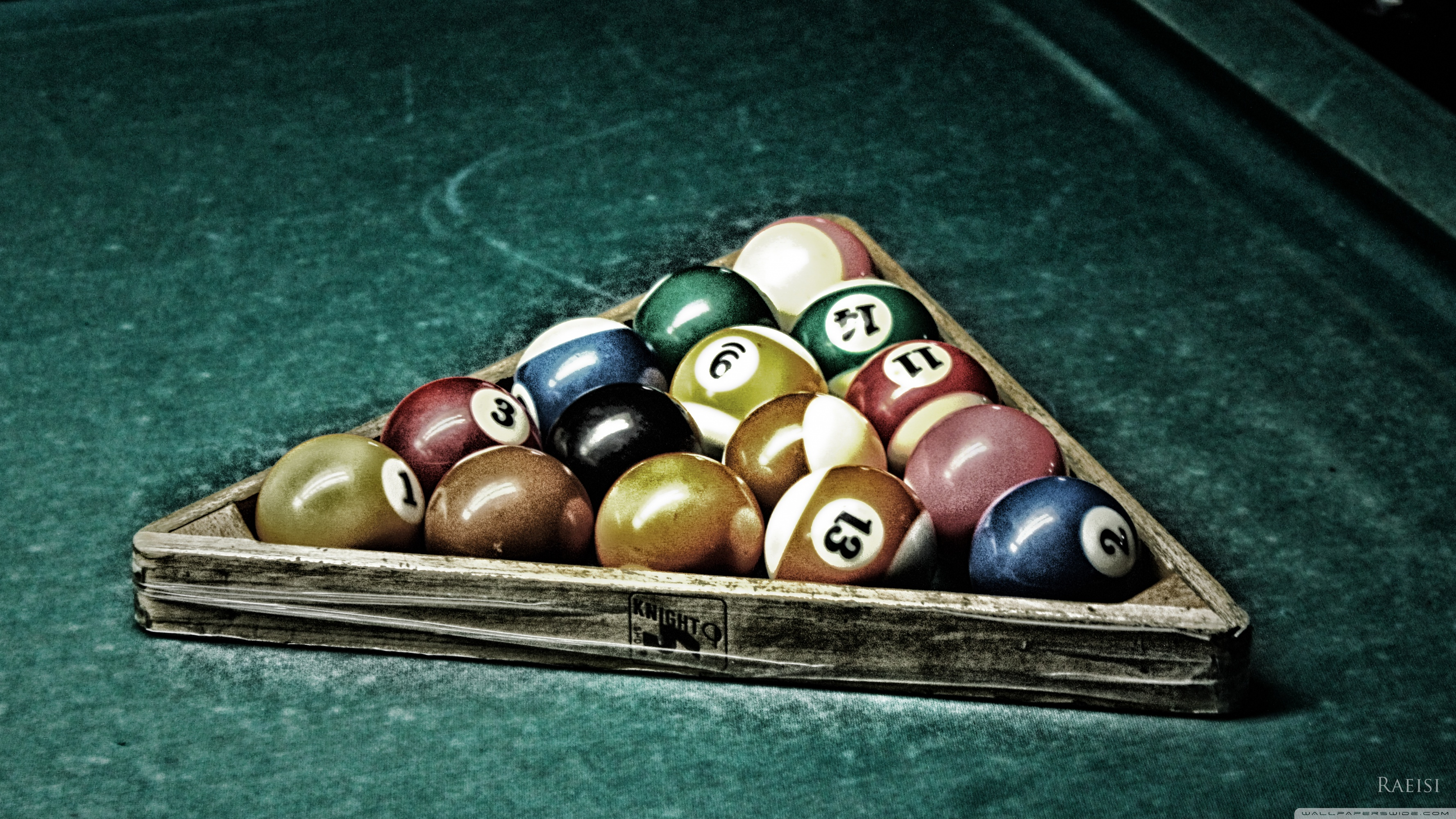 Billiard 4K HD Desktop Wallpaper for 4K Ultra HD TV Wide 3554x1999