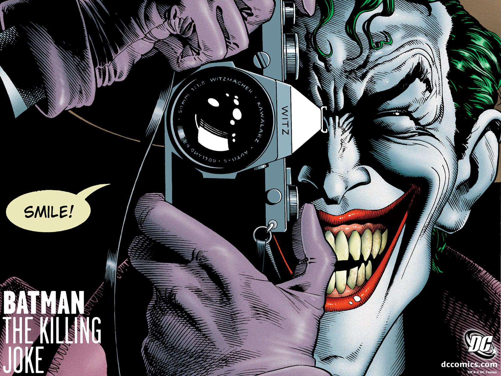 Batman The Killing Joke HD Comics Cover Wallpaper Cartoon Wallpapers 1600x1200