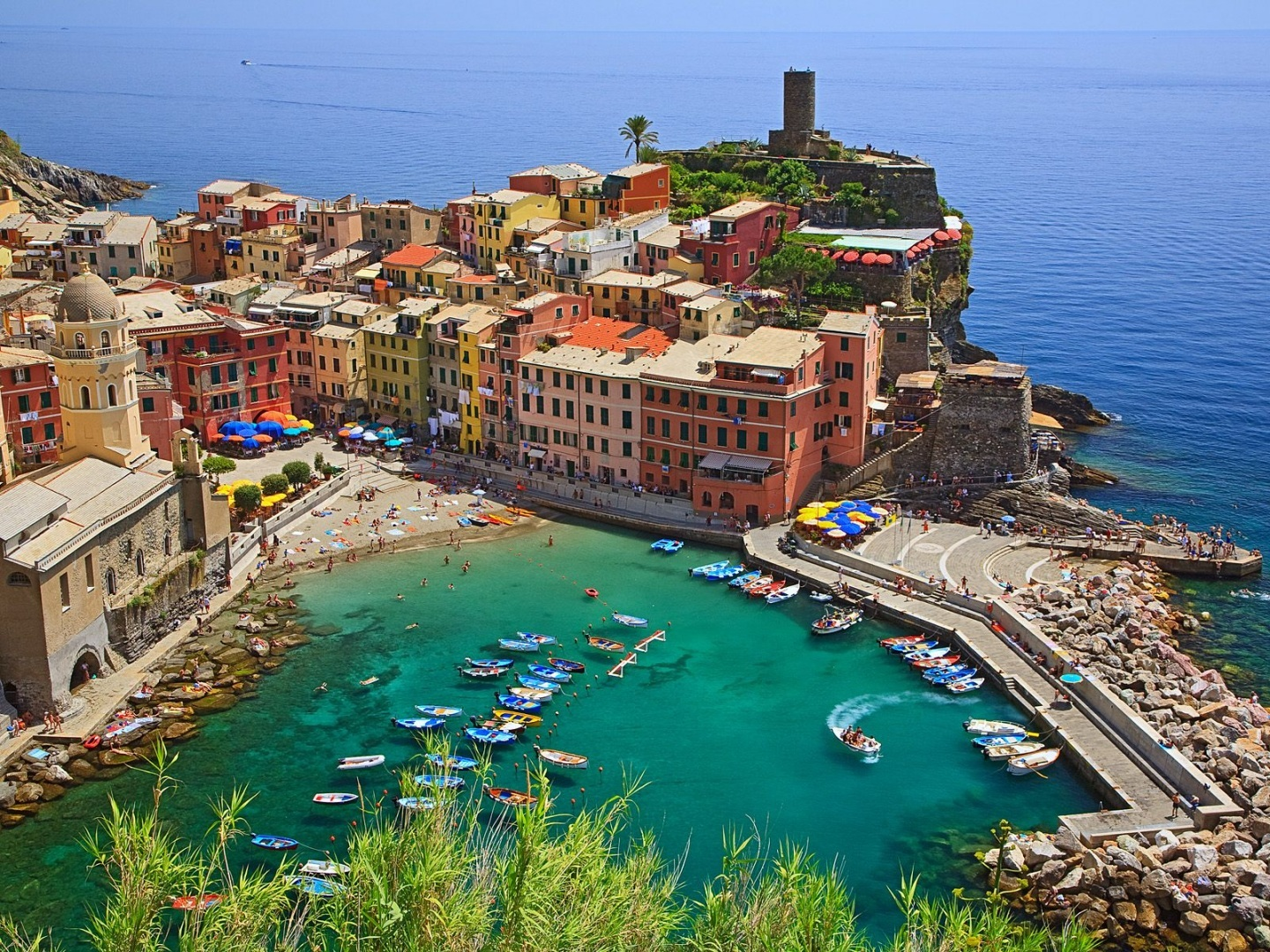 Vernazza Cinque Terre Italy Wallpaper Wallpaper Photo Shared By 1440x1080