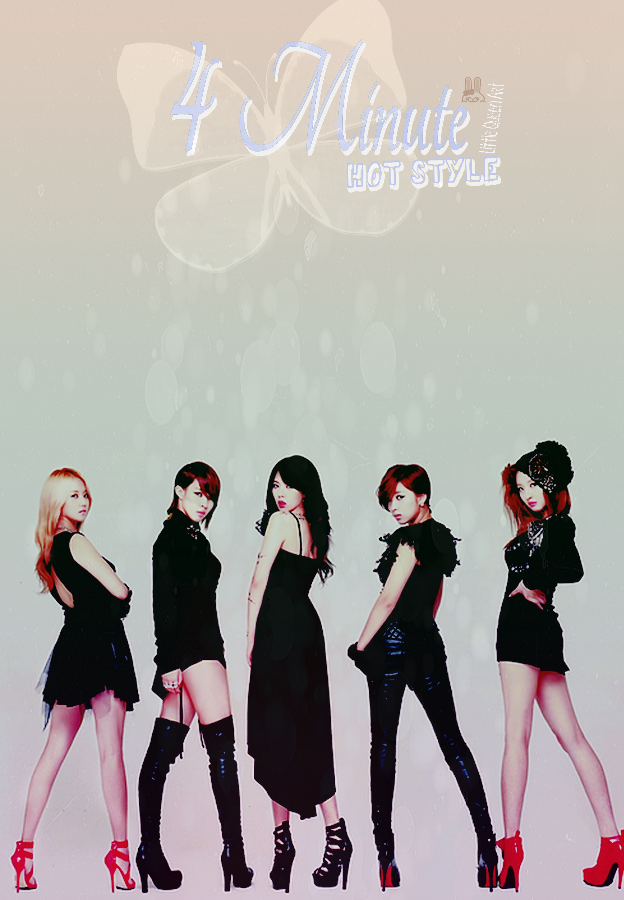 Hyunas and 4Minute Wallpaper Cute Color Hot Style Little 2034x2934