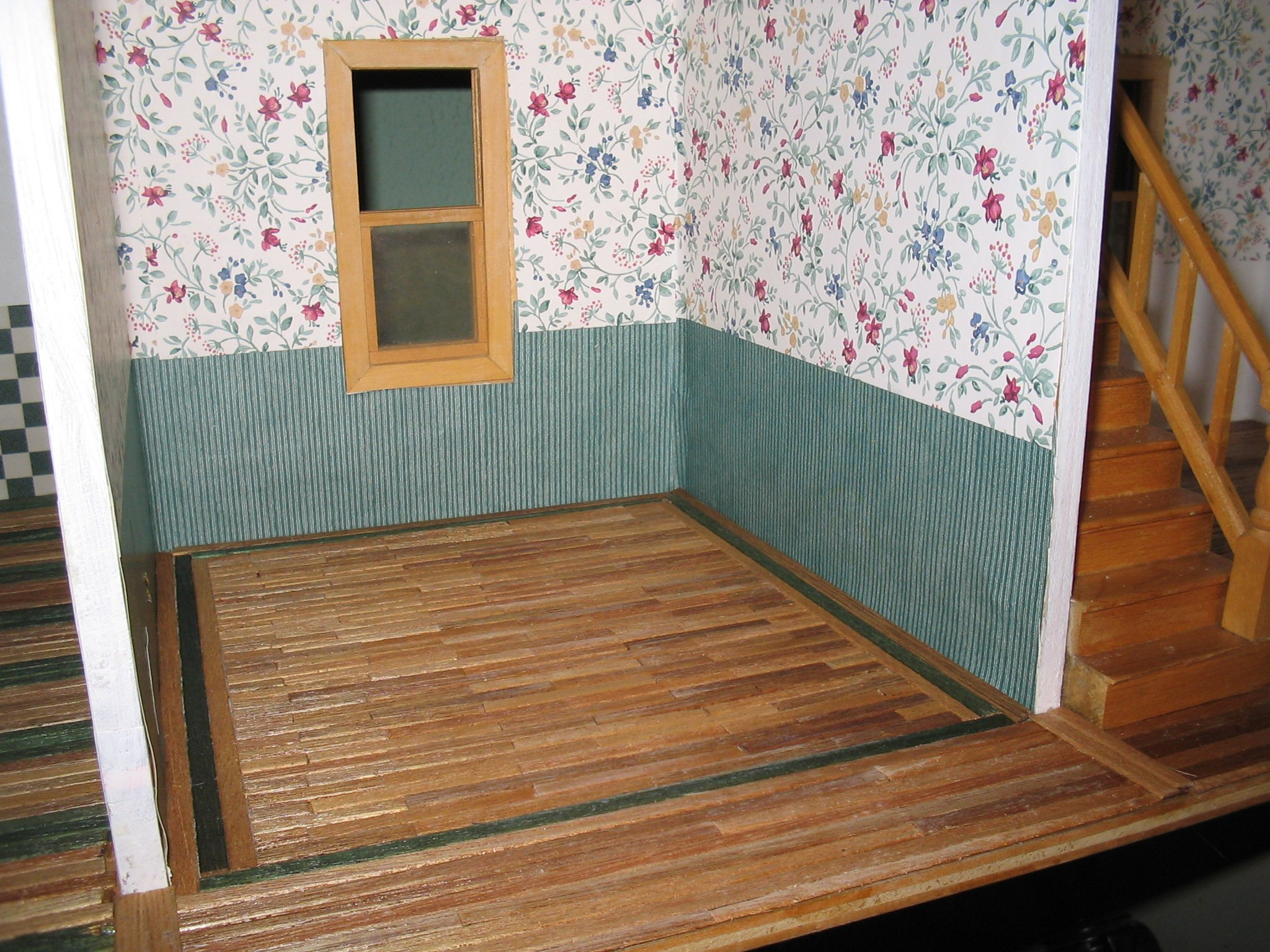 Peel And Stick Wall Paper Dollhouse Wallpaper And Flooring Wallpapersafari