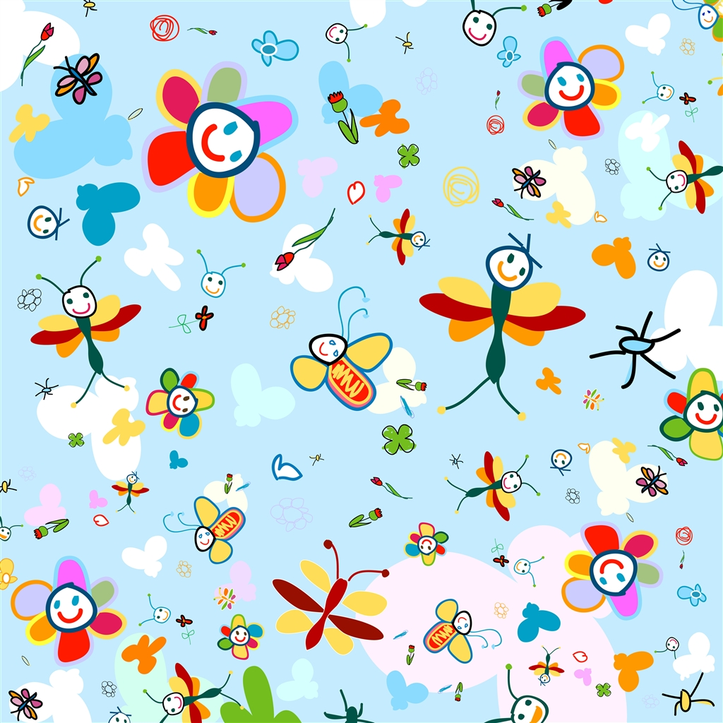 Wall Sticker Pictures Kindle Kids Wallpaper Wallpapersafari