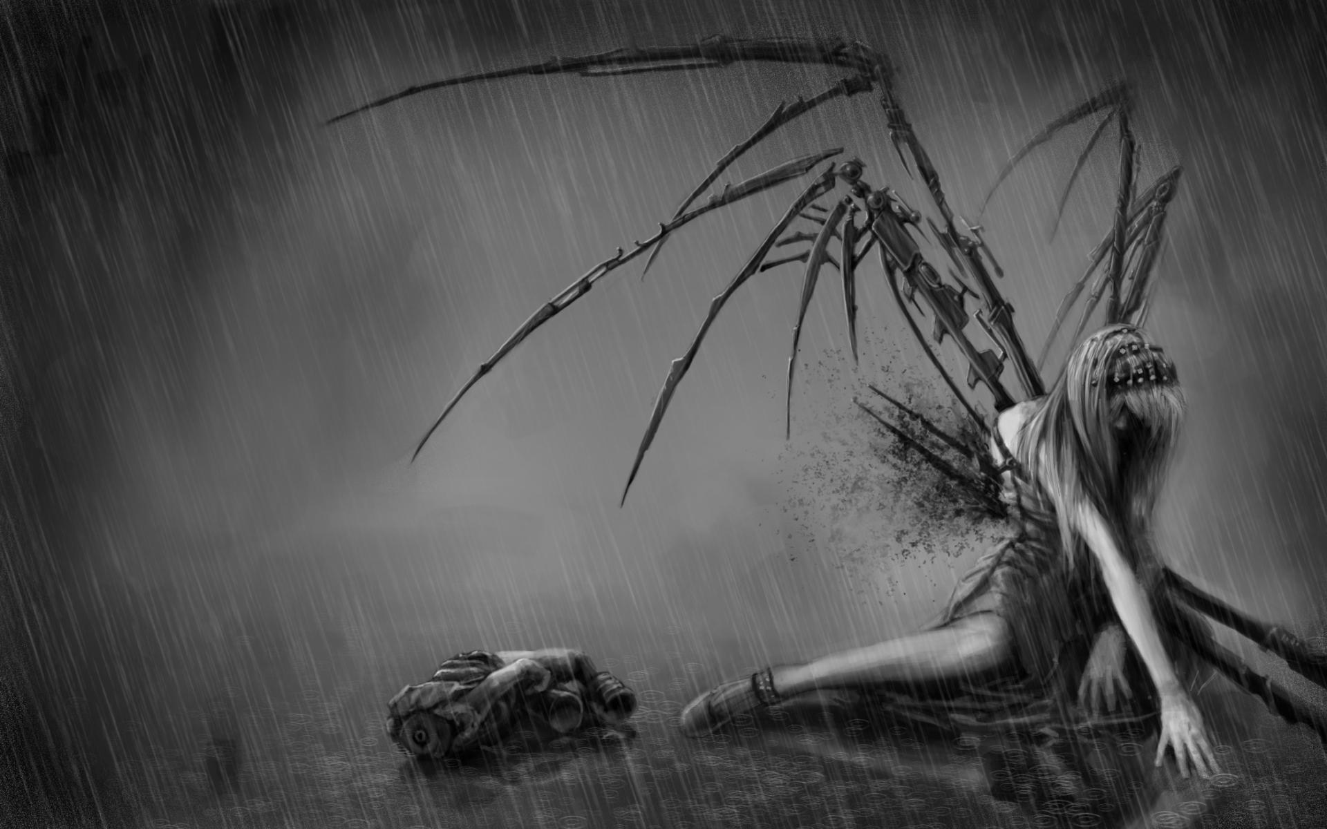Free download la sagne deviantart com anime fantasy dark horror evil fallen angels 1920x1200 - Free evil angel pictures ...
