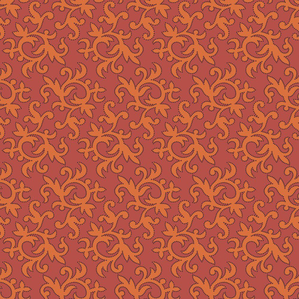 The Wallpaper Company Papier Peint 205 Nouvelle Tendance Orange 1000x1000