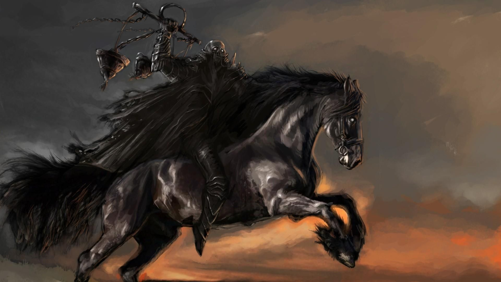 Best Knight on horseback stand on cliff Wallpapers 8 Images 1920x1080
