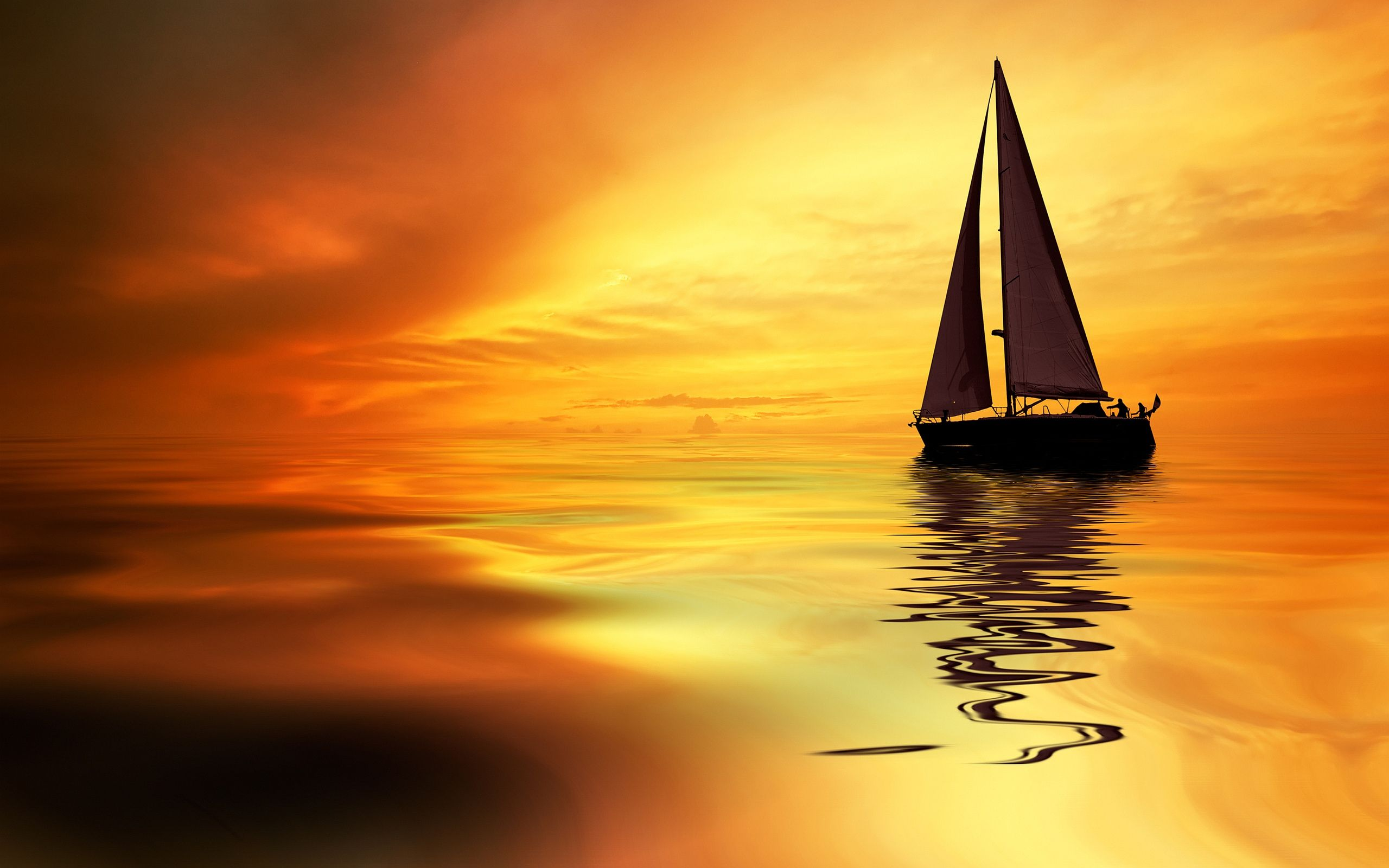 Sailboat Sunrise Wallpapers Pictures Photos Images Camp 2560x1600