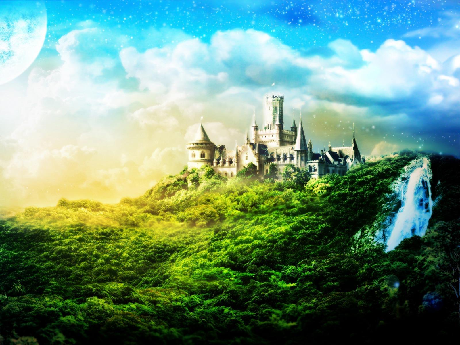 Fantasy Castle 1600 X 1200 Wallpaper 4232   HD Desktop Wallpaper 1600x1200