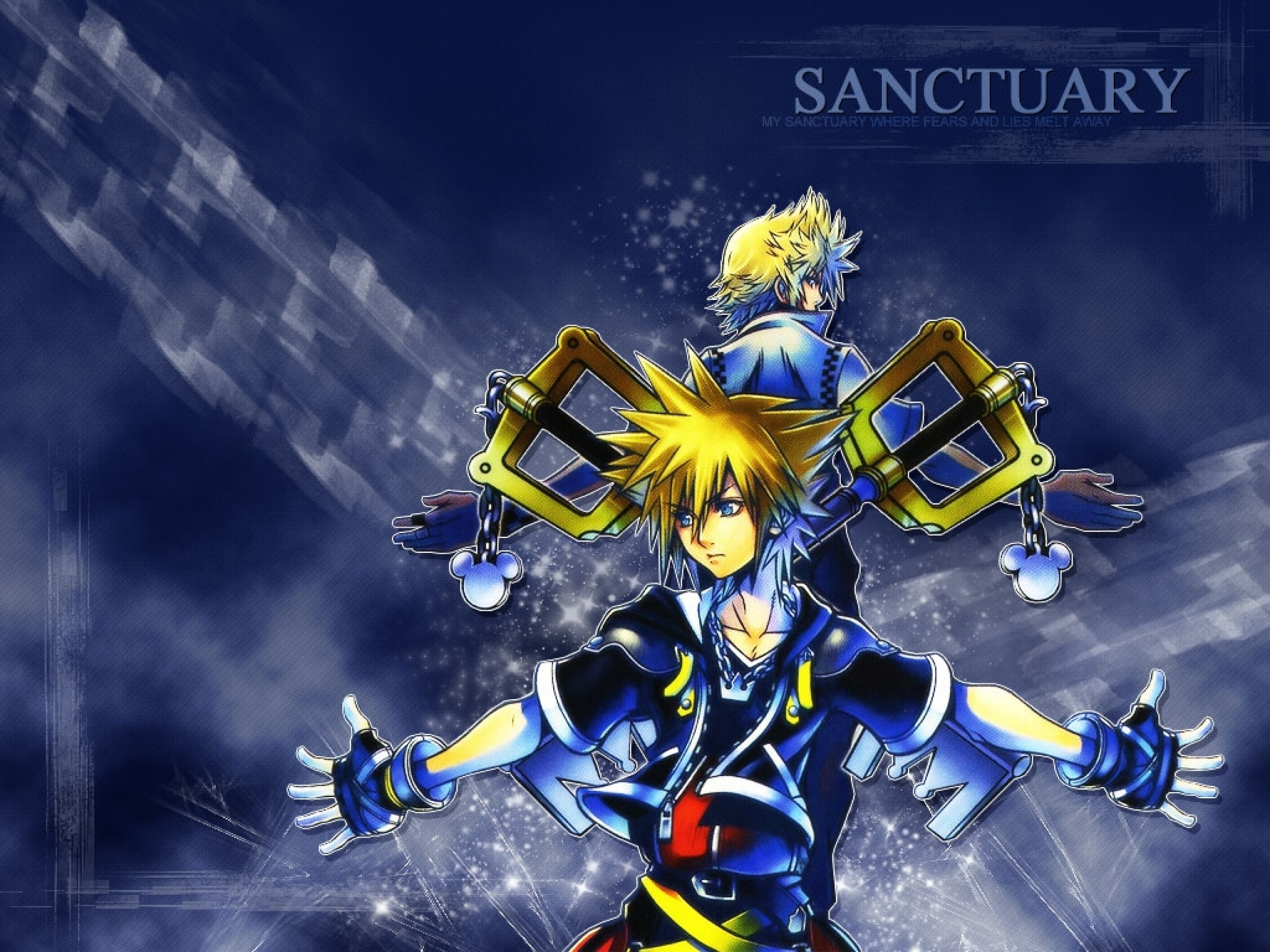 Download Kingdom Hearts Games Wallpaper To Your Mobile Phone 2560x1920