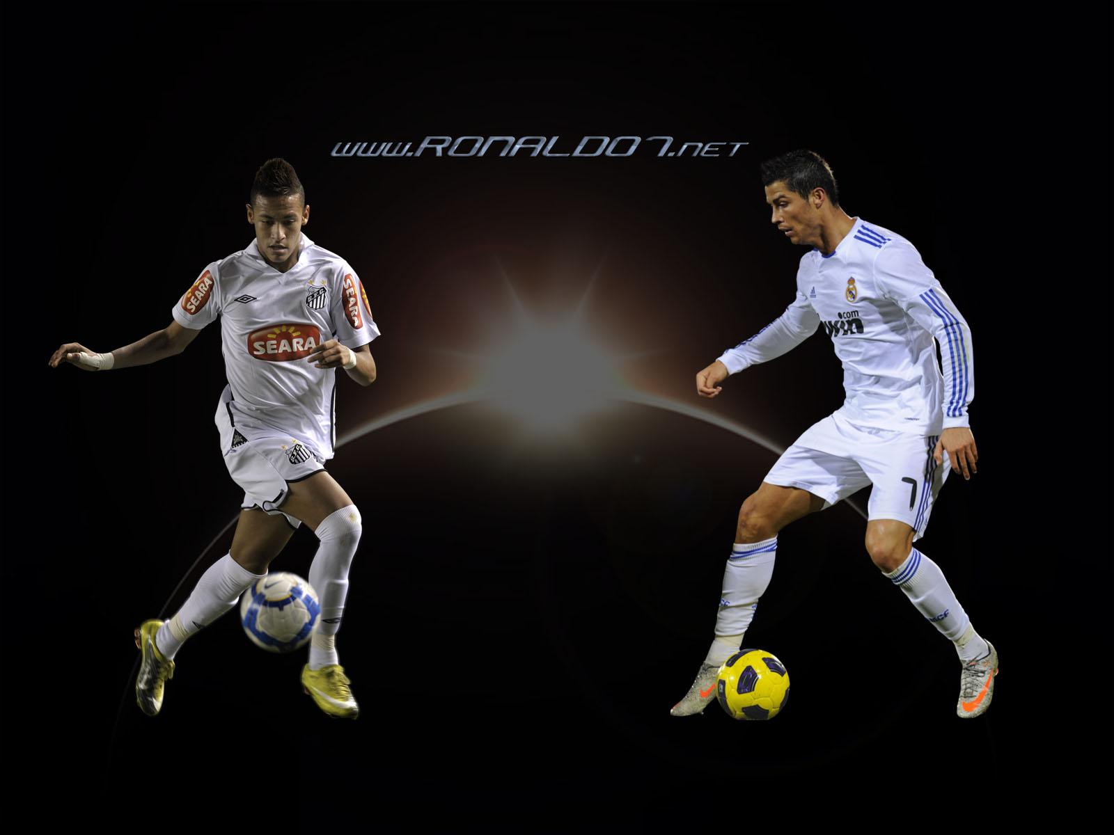 Cristiano Ronaldo And Neymar Wallpaper Take Wallpaper 1600x1200