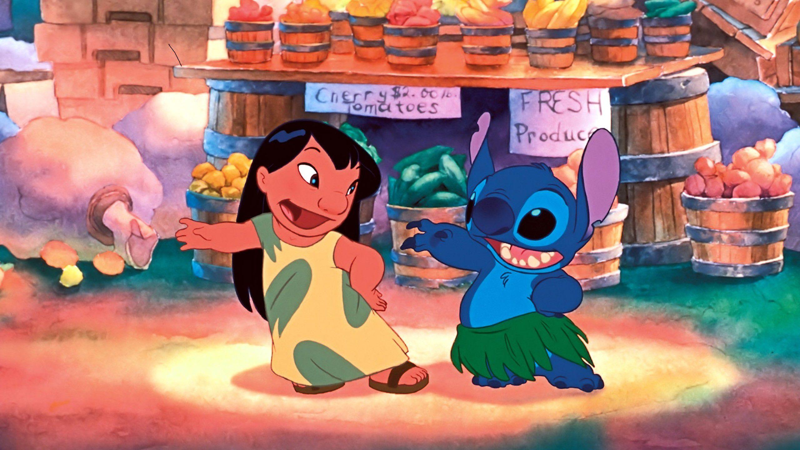 Movie   Lilo Stitch Lilo And Stitch Wallpaper 2560x1440