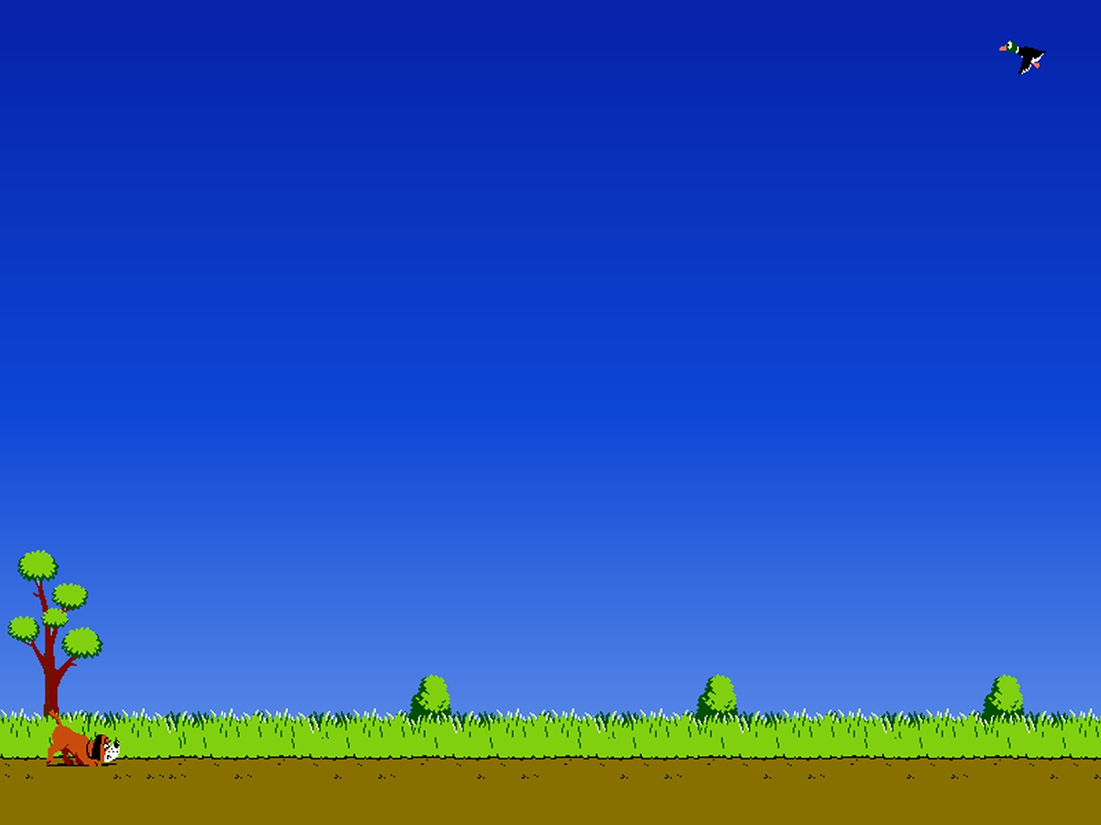 Duck Hunt Nintendo Dendy Nes wallpapers and images 1600x1200