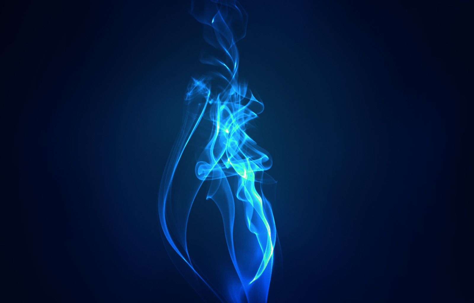 Blue Flame Wallpaper