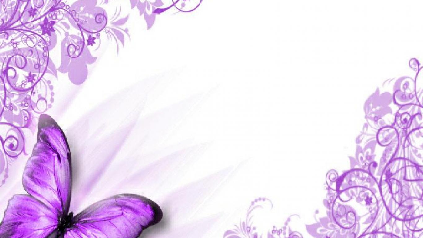 Purple Butterfly Wallpaper Wallpapersafari