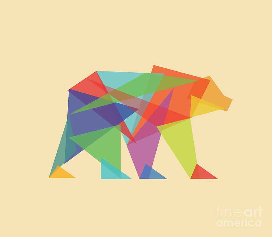 FunMozar Interesting Geometric Animal Wallpaper 900x783