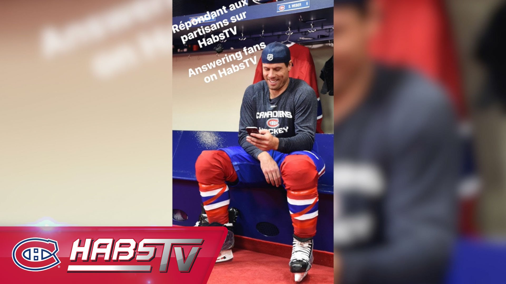 Weber Sports No 6 Canadiens Sweater   Beyond The Benches   Beyond 1920x1080